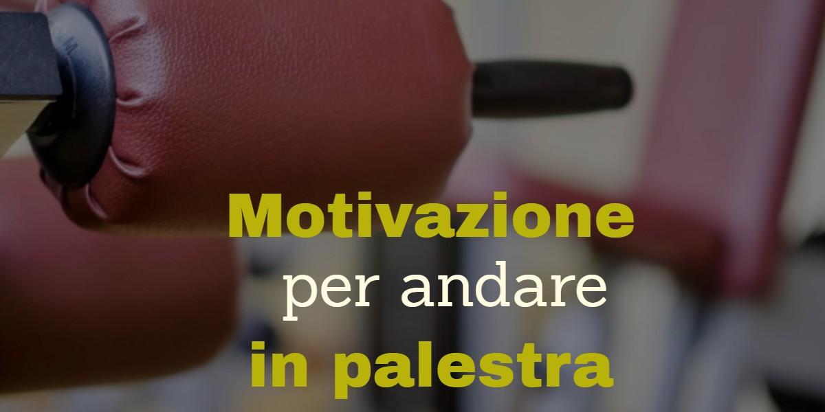 motivazione palestra