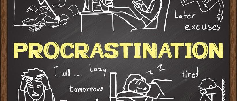 esercizi per non procrastinare